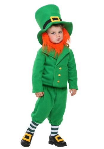 Click Here to buy Toddler Wee Little Leprechaun Costume from HalloweenCostumes, CDN Funds & Shipping