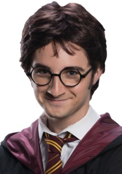 Harry Potter Adult Wig & Tattoo Set