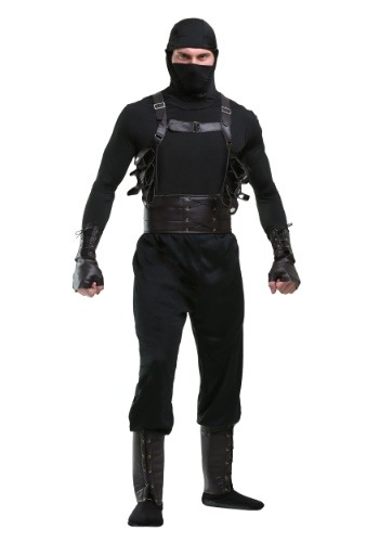 Click Here to buy Ninja Assassin Mens Costume from HalloweenCostumes, CDN Funds & Shipping