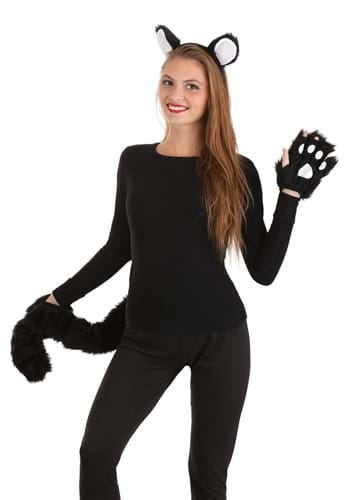 Click Here to buy Deluxe Black Cat Costume Kit from HalloweenCostumes, CDN Funds & Shipping