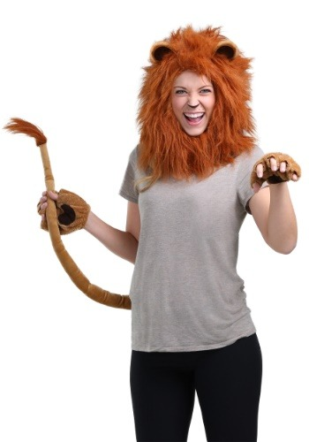 Click Here to buy Deluxe Lion Accessory Kit from HalloweenCostumes, CDN Funds & Shipping