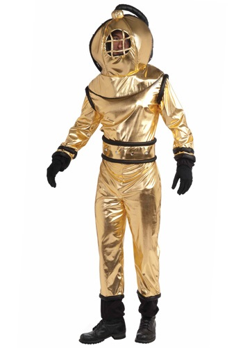 Click Here to buy Adult Deep Sea Diver Costume from HalloweenCostumes, CDN Funds & Shipping