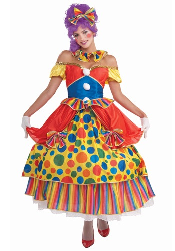 Click Here to buy Big Top Belle Clown Costume from HalloweenCostumes, CDN Funds & Shipping