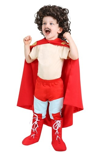 Click Here to buy Nacho Libre Costume for Toddlers from HalloweenCostumes, CDN Funds & Shipping