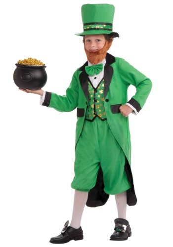 Click Here to buy Kids Leprechaun Costume from HalloweenCostumes, CDN Funds & Shipping