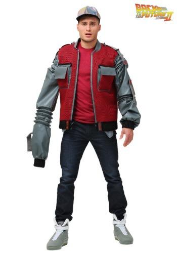 Men's Plus Size Authentic Marty McFly Jacket
