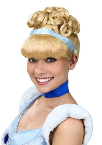 Click Here to buy Womens Cinderella Wig from HalloweenCostumes, CDN Funds & Shipping