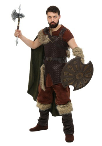 Click Here to buy Plus Size Nordic Viking Costume from HalloweenCostumes, CDN Funds & Shipping