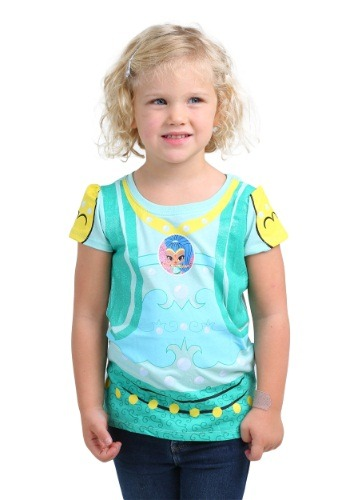 Toddler Shimmer And Shine Girls Shine Costume T-Shirt