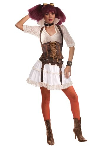 Click Here to buy Womens Steampunk Costume from HalloweenCostumes, CDN Funds & Shipping