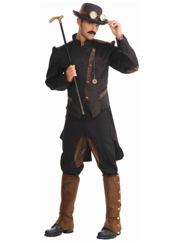Click Here to buy Steampunk Gentleman Costume from HalloweenCostumes, CDN Funds & Shipping