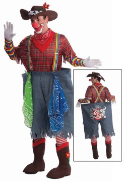 Adult Rodeo Clown Costume