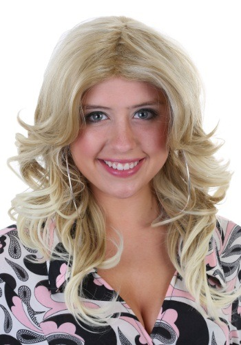 Click Here to buy 70s Wig for Women Fever Farrah from HalloweenCostumes, CDN Funds & Shipping