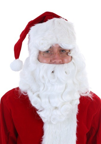 Fever Quality Santa Claus Wig and Beard Set