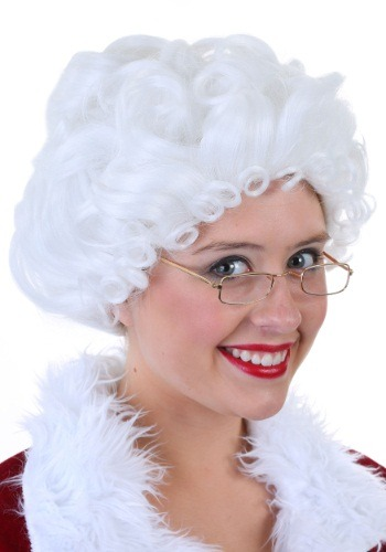 Click Here to buy Mrs. Claus Wig Fever Quality from HalloweenCostumes, CDN Funds & Shipping