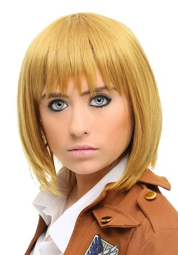 Click Here to buy Attack on Titan Armin Wig for Women from HalloweenCostumes, CDN Funds & Shipping