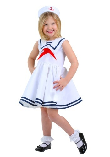 Click Here to buy Sailor Toddler Girls Costume from HalloweenCostumes, CDN Funds & Shipping