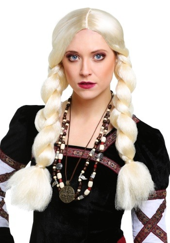 Click Here to buy Blonde Viking Wig from HalloweenCostumes, CDN Funds & Shipping