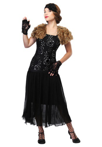Charleston Flapper Costume in Womens Plus Size