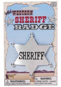 Wild West Sheriff Badge