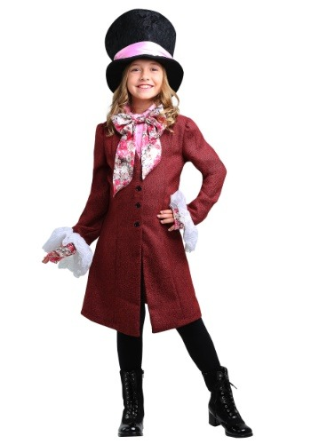 Click Here to buy Mad Hatter Girls Costume from HalloweenCostumes, CDN Funds & Shipping