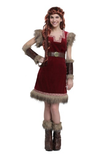 Click Here to buy Barbarian Viking Womens Costume from HalloweenCostumes, CDN Funds & Shipping