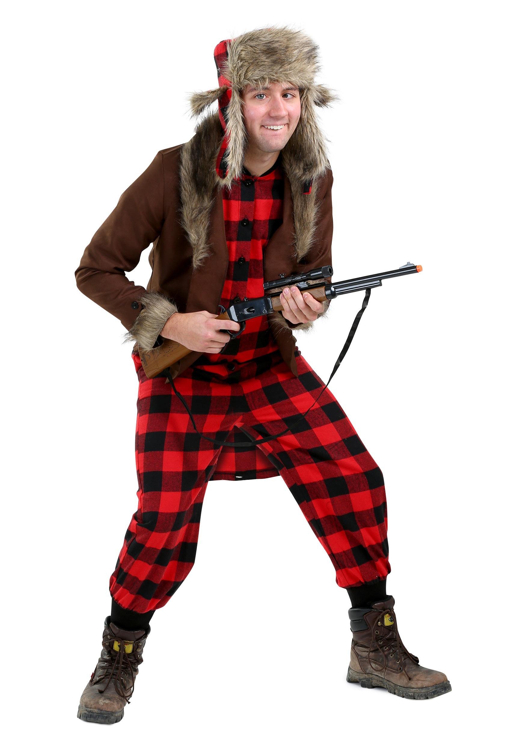 Zombie Hillbilly Costume, Male