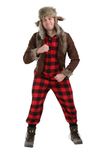 Click Here to buy Wabbit Hunter Costume for Plus Size Men from HalloweenCostumes, CDN Funds & Shipping