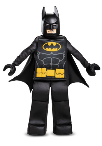 Click Here to buy Lego Batman Movie Boys Prestige Batman Costume from HalloweenCostumes, CDN Funds & Shipping