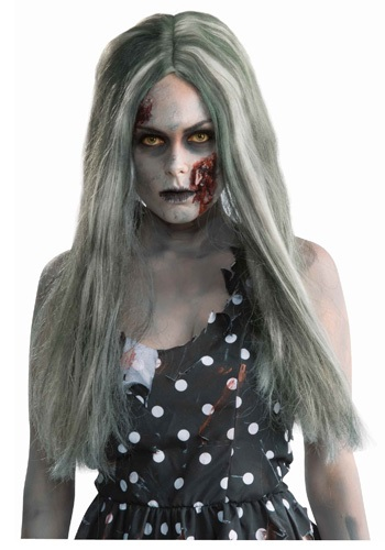 Click Here to buy Creepy Zombie Wig from HalloweenCostumes, CDN Funds & Shipping