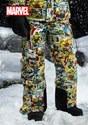 MarvelComic PrintSnow Pants