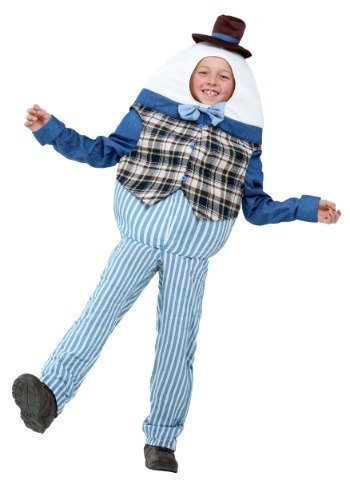 Click Here to buy Classic Humpty Dumpty Kids Costume from HalloweenCostumes, CDN Funds & Shipping