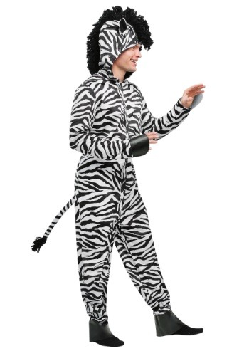 Wild Zebra Costume for Men