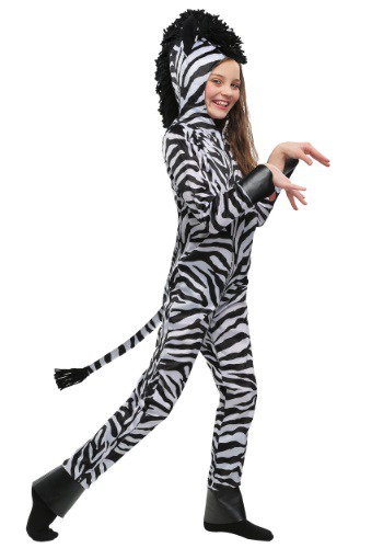 Wild Zebra Costume for Kids