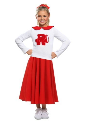 Click Here to buy Grease Rydell High Cheerleader Girls Costume from HalloweenCostumes, CDN Funds & Shipping