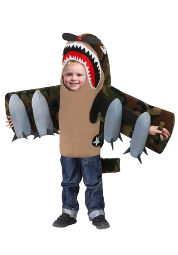 American Fighter Plane Costume for Toddlers