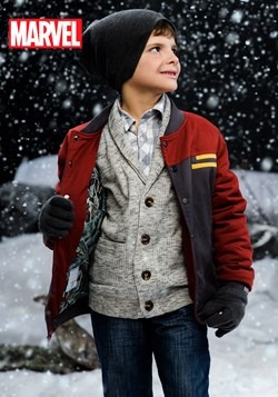 Kids Iron Man Casual Jacket (Secret Identity)