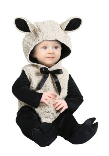 Click Here to buy Baby Lamb Costume for Babys from HalloweenCostumes, CDN Funds & Shipping