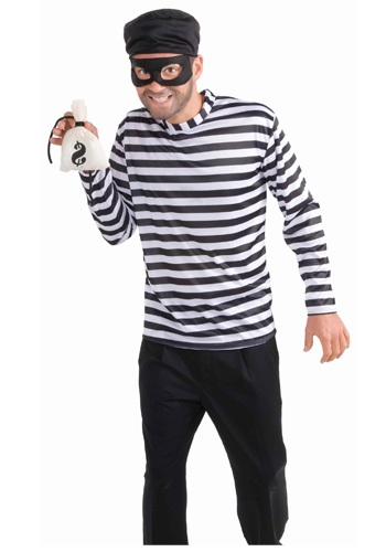 Click Here to buy Mens Burglar Costume from HalloweenCostumes, CDN Funds & Shipping