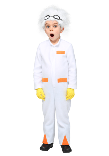 Click Here to buy Back to the Future Toddler Doc Brown Costume from HalloweenCostumes, CDN Funds & Shipping