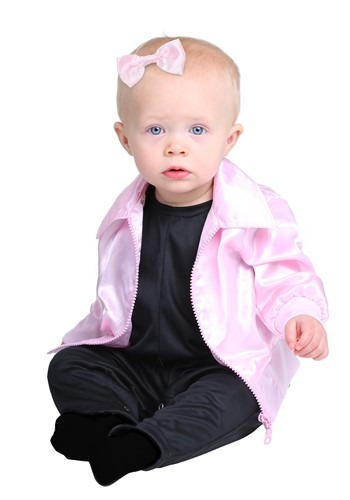Click Here to buy Grease Pink Ladies Costume for Babies from HalloweenCostumes, CDN Funds & Shipping