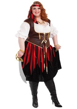 Plus Size Pirate Lady Costume