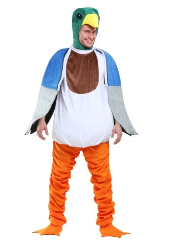 Click Here to buy Mallard Duck Mens Costume from HalloweenCostumes, CDN Funds & Shipping