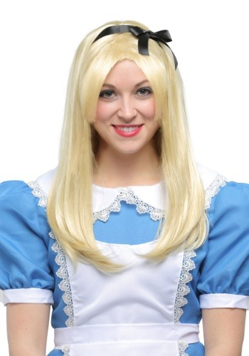 Click Here to buy Deluxe Alice Wig for Adults from HalloweenCostumes, CDN Funds & Shipping