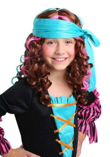 Pirate Princess Wig for Girls