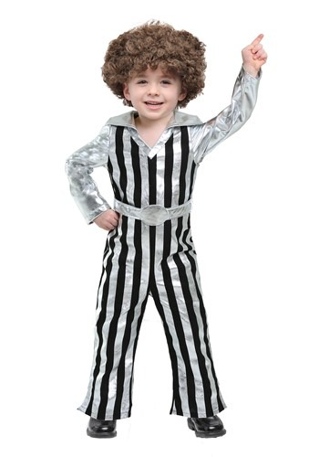 Click Here to buy Dazzling Disco Dude Costume for Toddlers from HalloweenCostumes, CDN Funds & Shipping