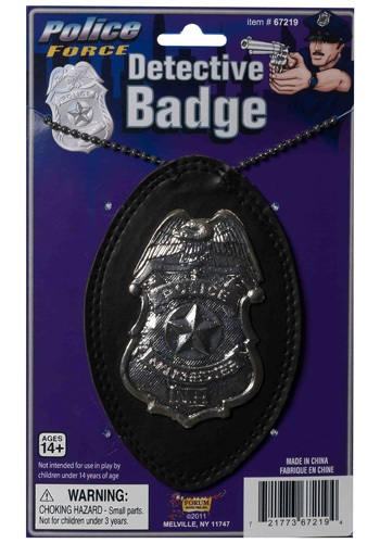 Click Here to buy Police Detective Badge from HalloweenCostumes, CDN Funds & Shipping