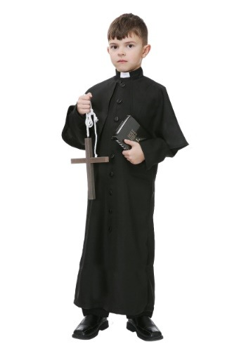 Deluxe Priest Boys Costume