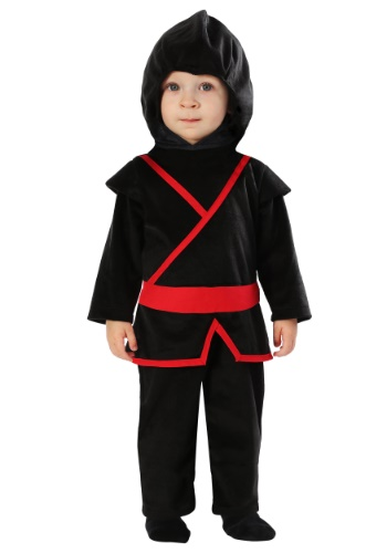 Click Here to buy Ninja Costume for Babies from HalloweenCostumes, CDN Funds & Shipping