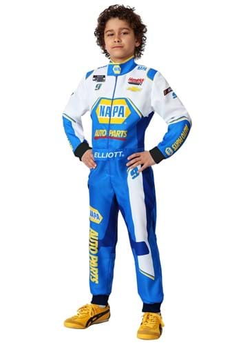 Click Here to buy Chase Elliott NASCAR Kids Uniform Costume from HalloweenCostumes, CDN Funds & Shipping